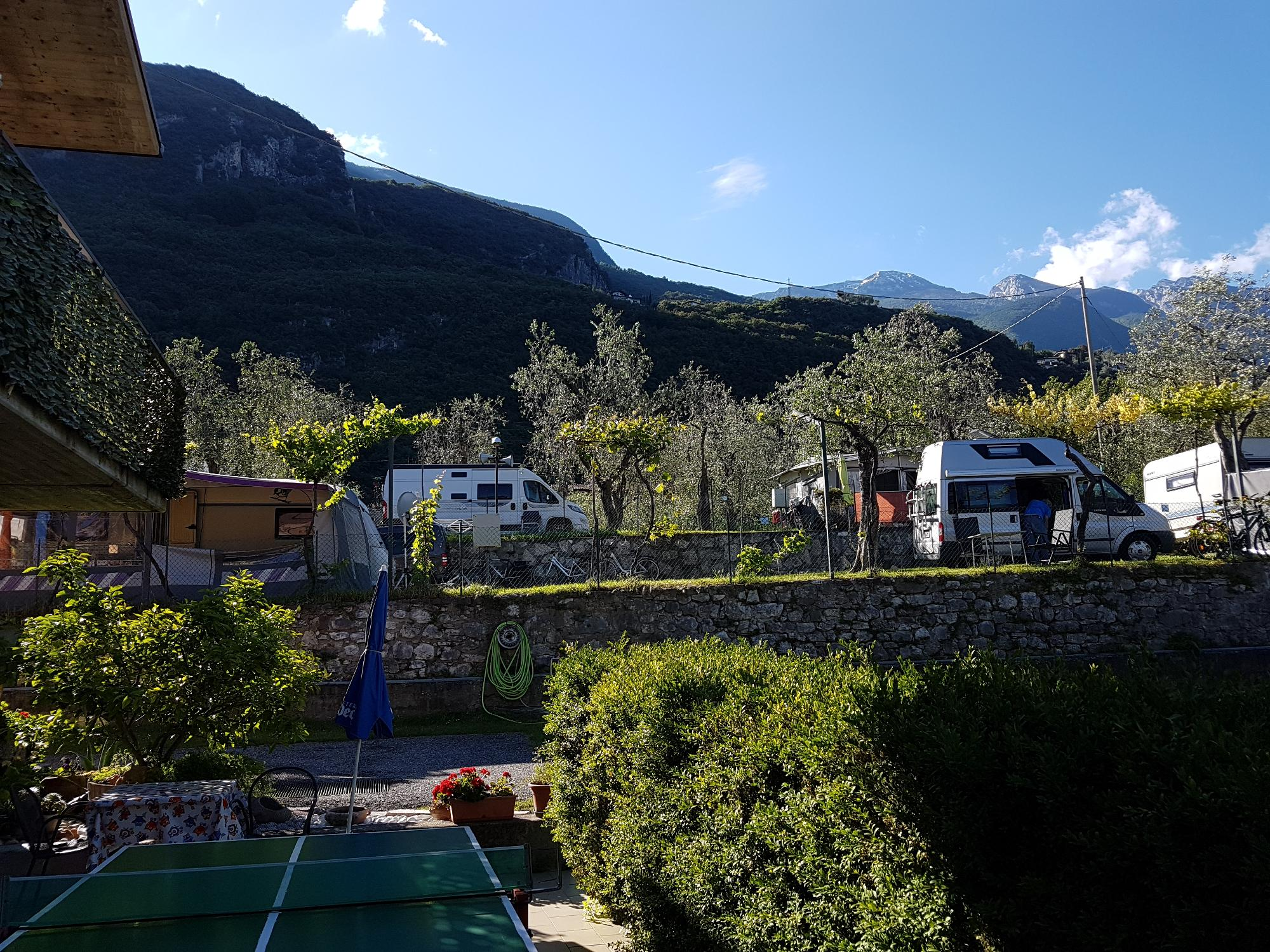 today sunny day !!! camping campagnola here we are !!