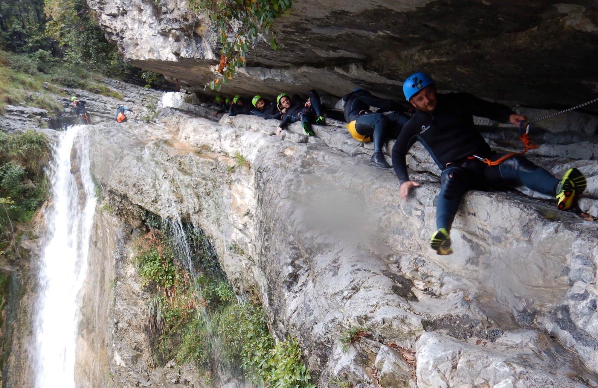Teambuilding Canyoning experience