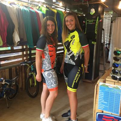 Fahrradverleih Gardasee - Bike wear - Bike rent - Bike shop - Torbole sul Garda - staff