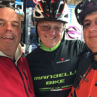 bike rent bike wear torbole lake garda guests from england