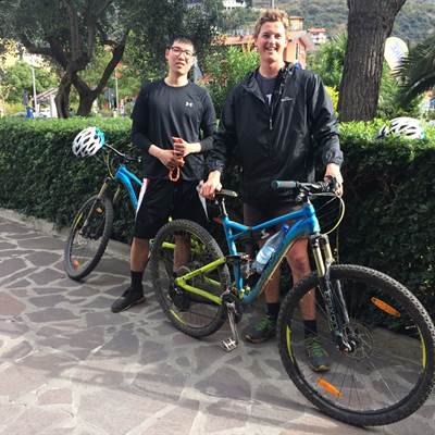 new zealand guest bike rent torbole lake garda