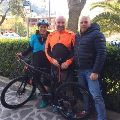noleggiata neox lago di tenno e-bike center bosch partner lake garda PASCAL