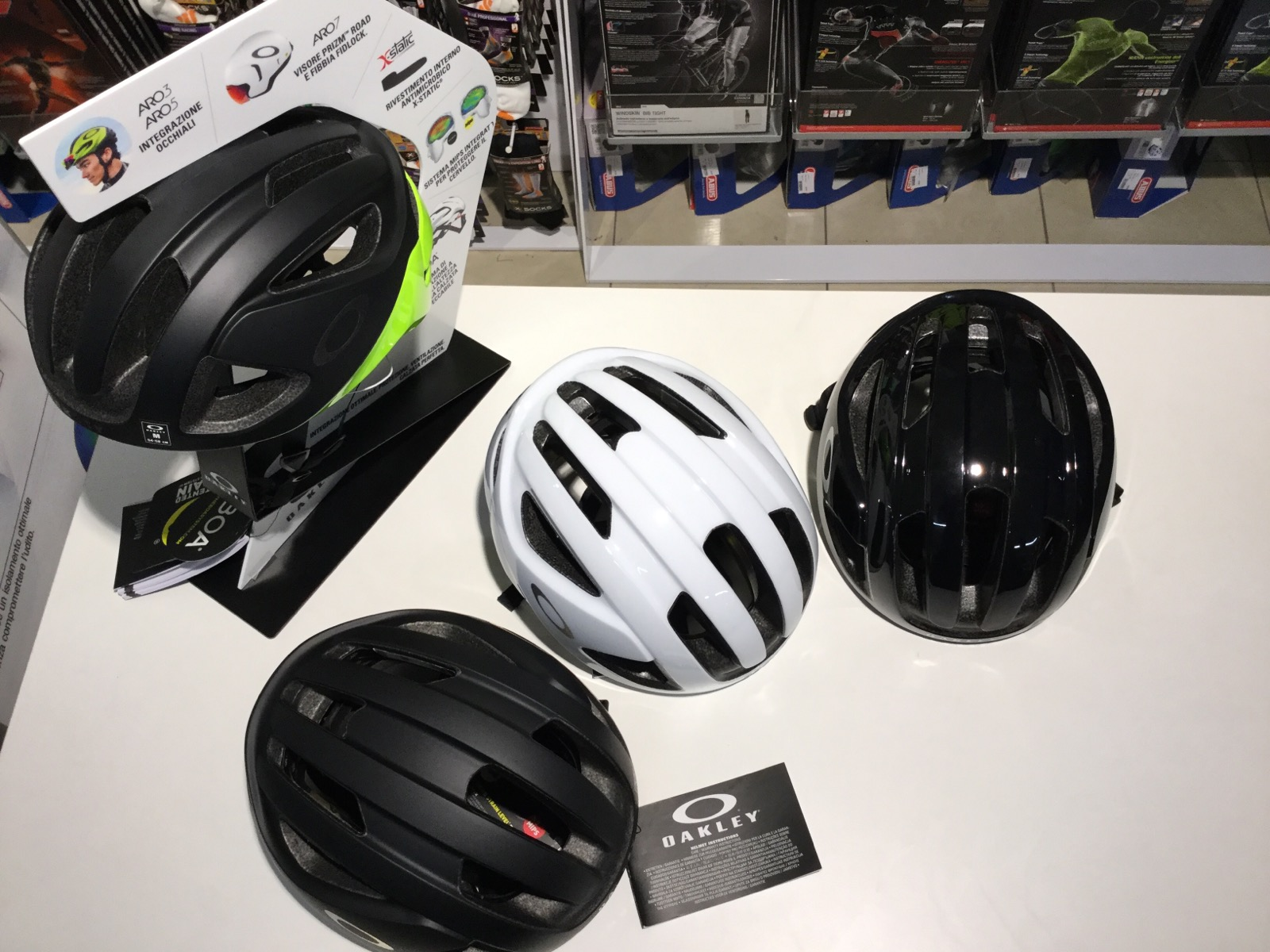 casco oakley da bici