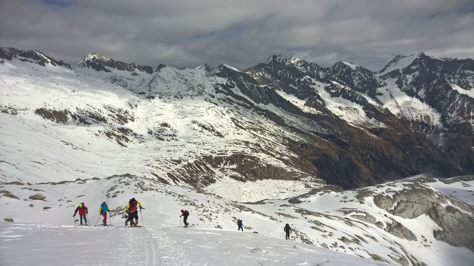 Ski touring Adamello Group