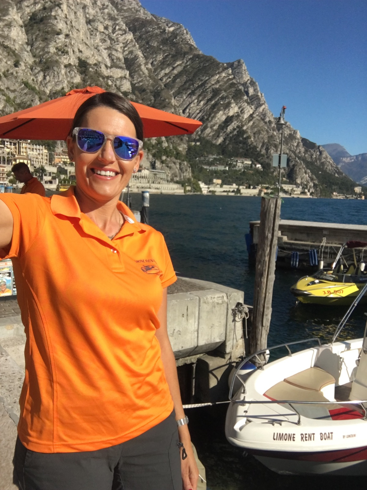 Amazing weather in Gardalake by Limone Rent Boat