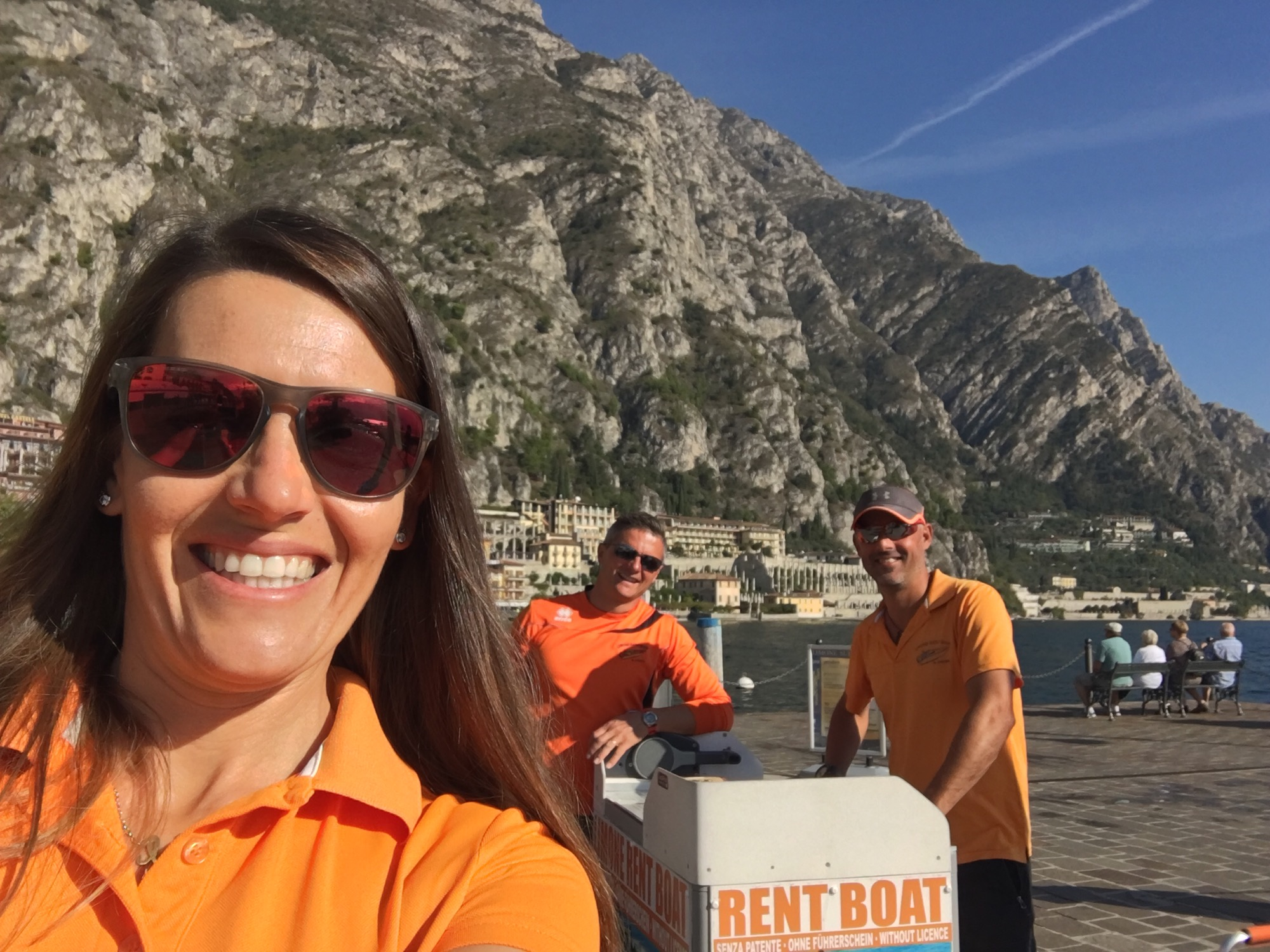 Beautiful autumn in Limone - Gardalake by Limone Rent Boat the Orange Team