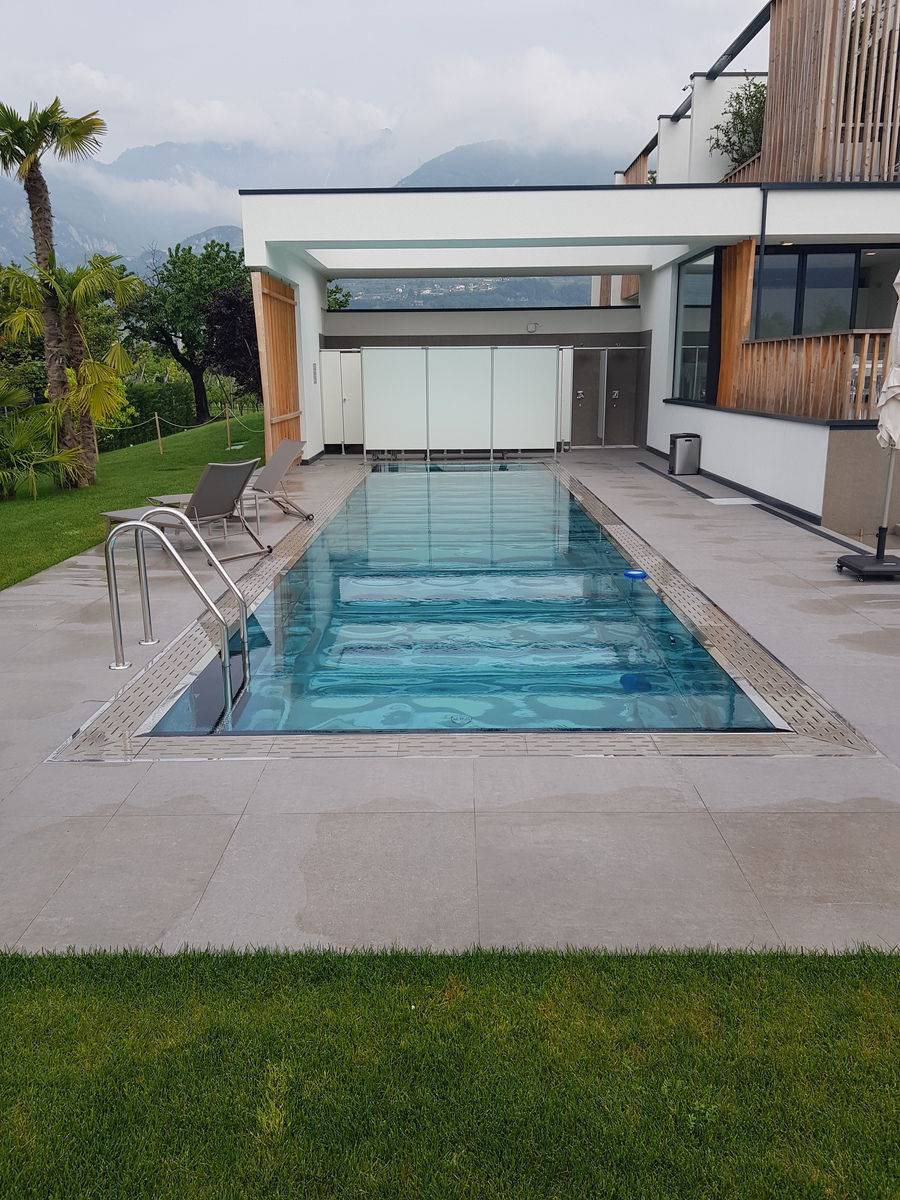 Design - Piscina inox