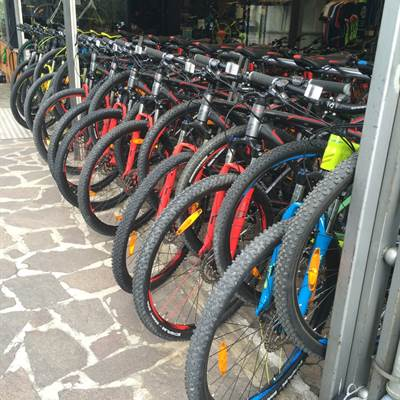 Fahrradverleih Torbole - Verleih Torbole am Gardasee - Bike rent - Mountain Bike - Ebike