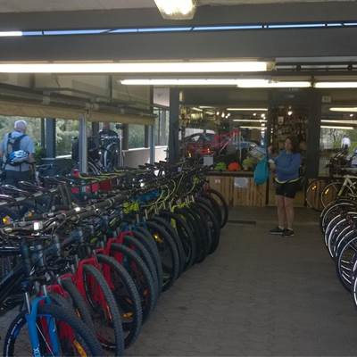 Fahrradverleih Gardasee - noleggio biciclette - Bike rent Torbole - Rental center