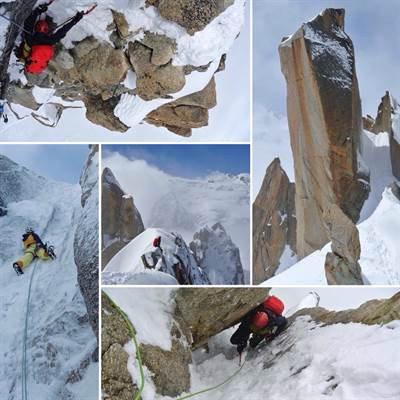 Mountaineering  Monte Bianco. #lol #liveoutdoorlife #outdoor #montaineering #guidaalpina