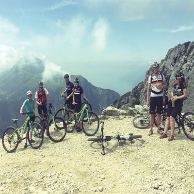 Bike Tours - Geführte Touren am Gardasee - Mountainbiken am Gardasee - Bike rent