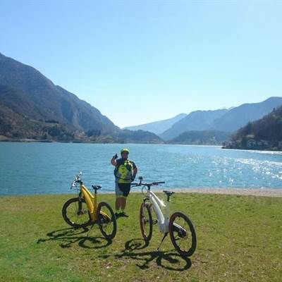 lago di ledro neox bike lake garda bike wear