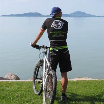 lago Balaton mein freund Andreas bike wear rent a bike gardasee