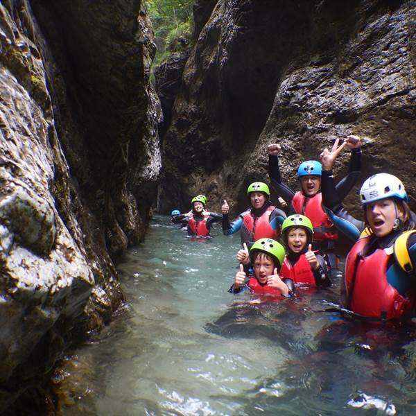 Canyoning Torrente Palvico, valle di Ledro