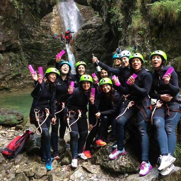Addio al nubilato alternativo, canyoning & party