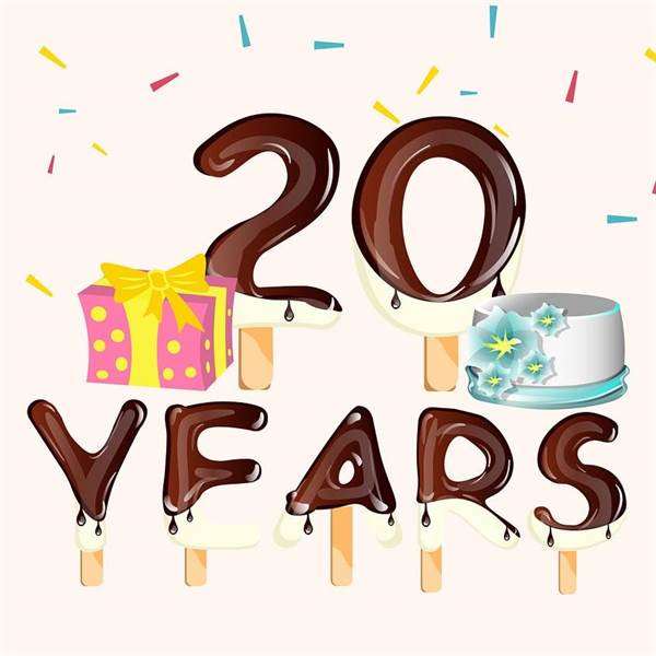 Happy birthday to us! 2️⃣0️⃣🍦🎉🎁