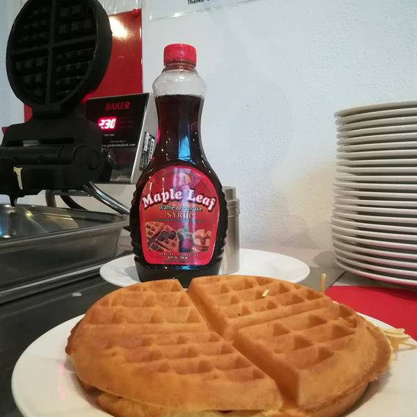 Cook by yourself a delicious waffle