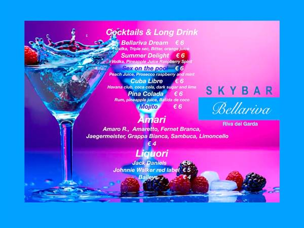 Our Skybar Coktails