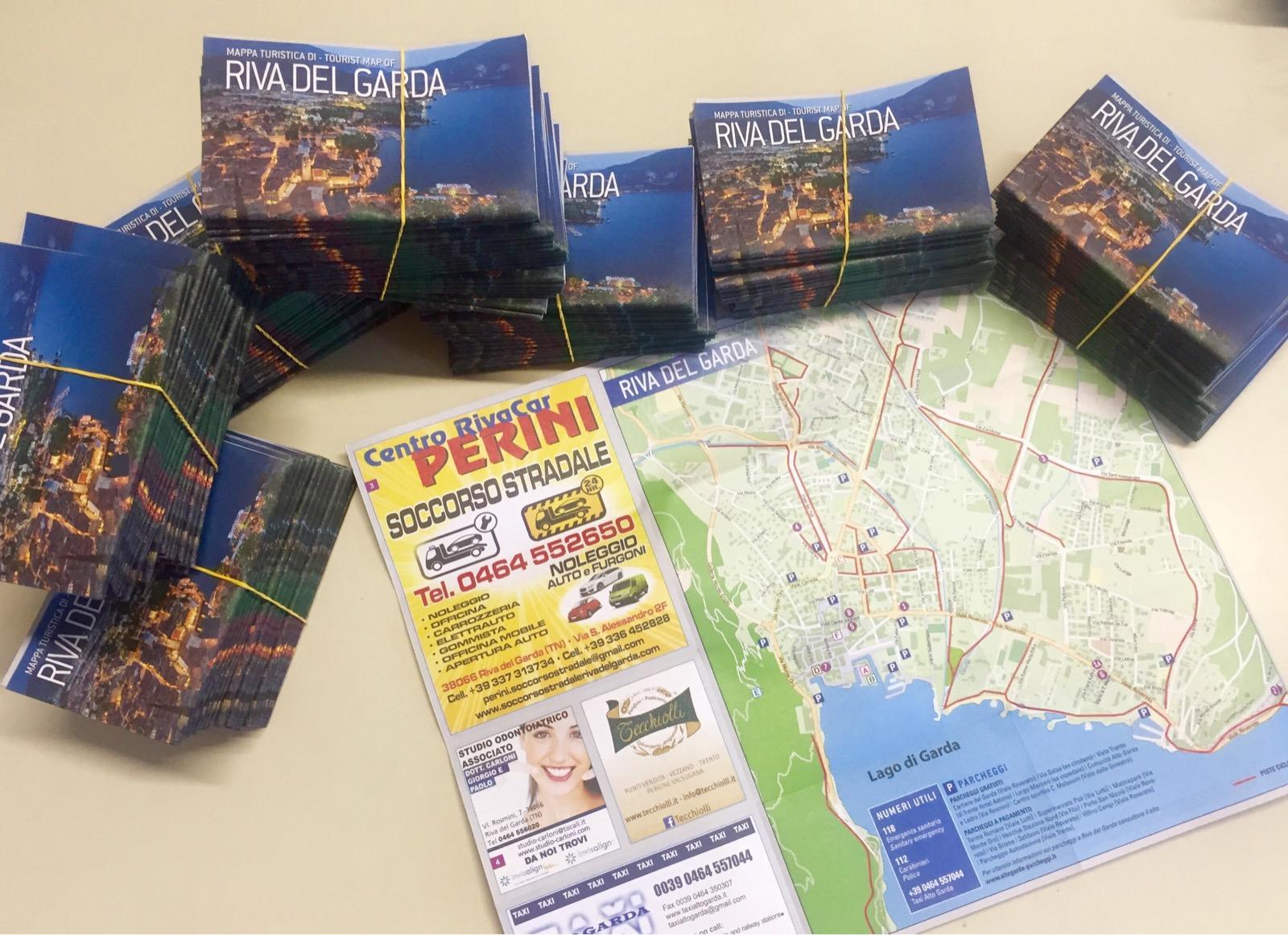 mappe turistiche di riva del garda