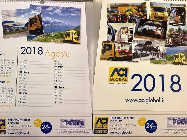 Calendario 2018 Aci Global - Centro RivaCar Perini s.r.l.
