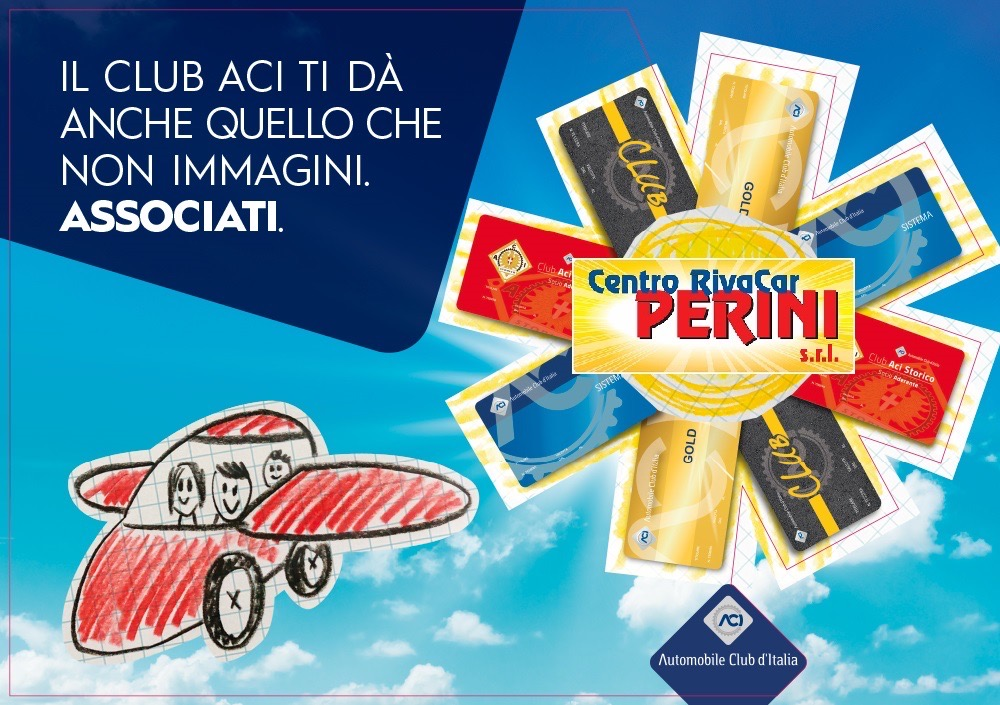 Siamo Centro delegato Automobile Club D'Italia