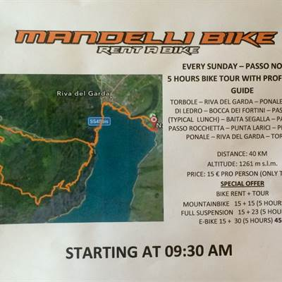 BIKE TOURS PLAN FOR SUNDAY!