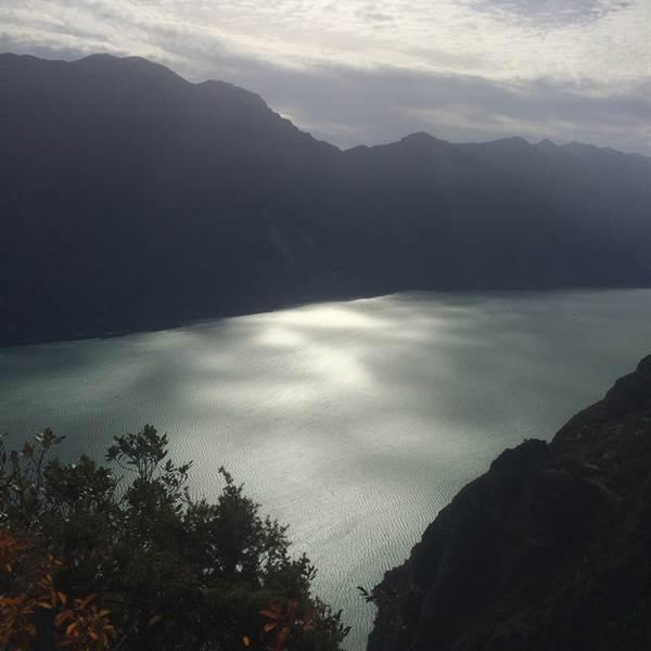 panorama da Cima Capi - via ferrata Susatti - Ledro