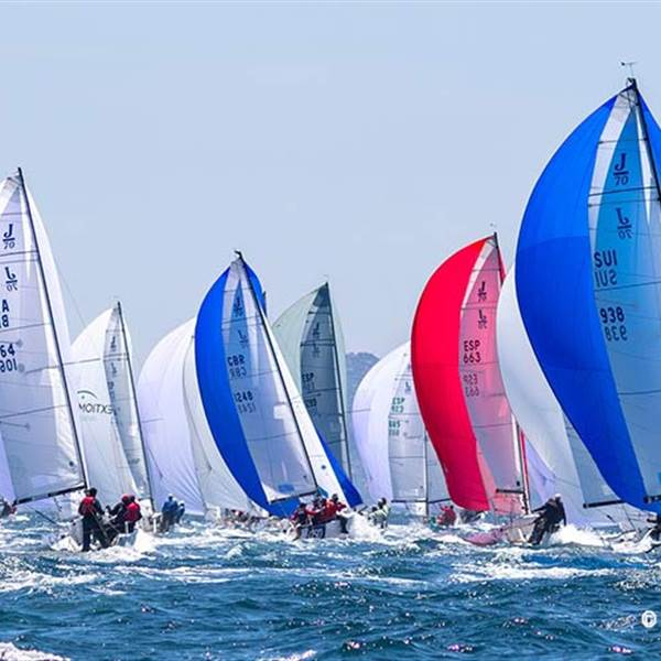 J70 European Championship 2019 yachting club Malcesine lake garda