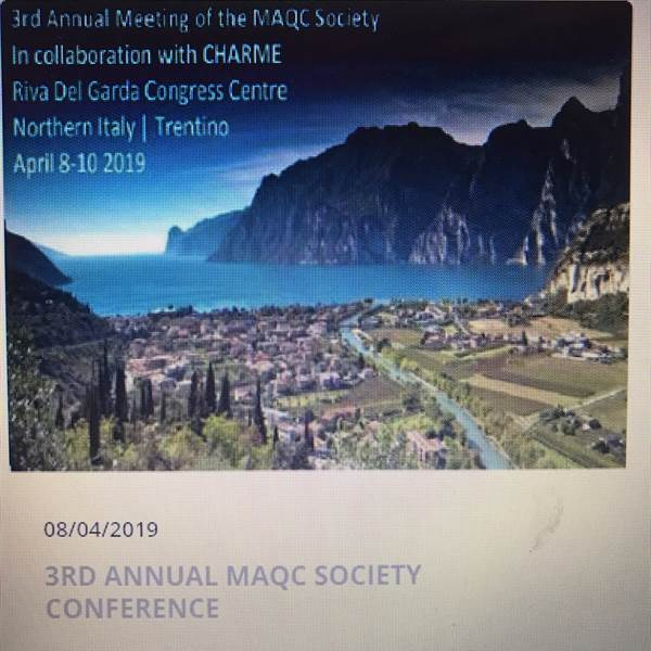3rd ANNUAL MAQC SOCIETY CONFERENCE
