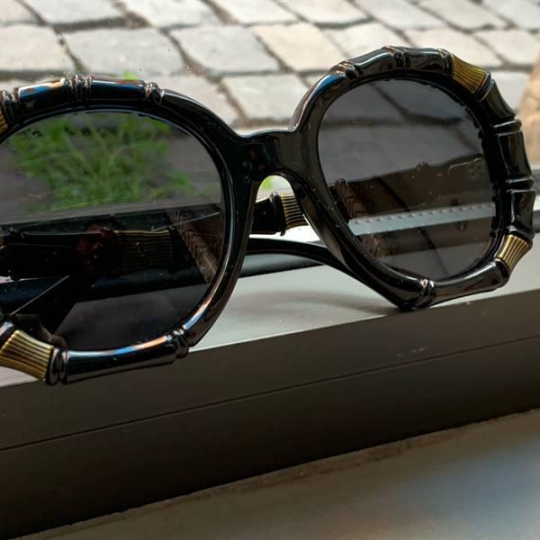 occhiali da sole Gucci bamboo limited edition