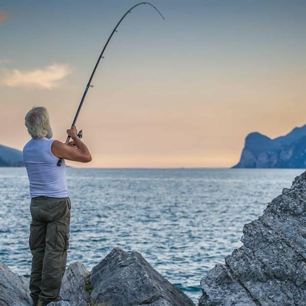 Pescare nel Garda Trentino