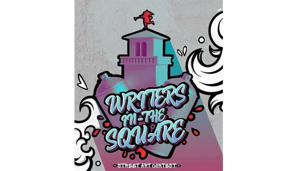 Writers in the square -street art contest
